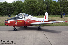 XW290 BAC P.84 JET PROVOST T5A EEPJP954 - 25052014 - Bruntingthorpe - Alan Gray - IMG_9425