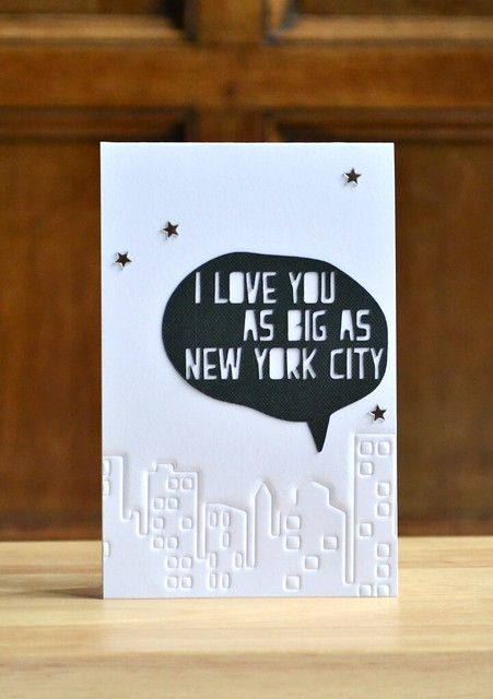 I love you as big as NYC