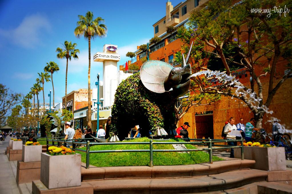 Faire du shopping à Los Angeles : third street, une rue incontournable!