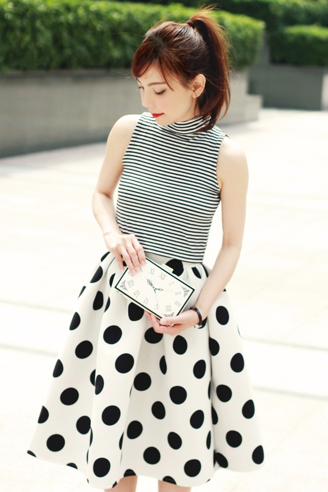 Monochrome // Stripes & Dots