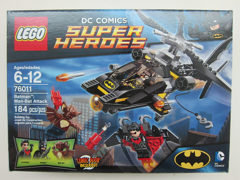 Lego - 76011 - Super Heroes - Batman: Man-Bat Attack