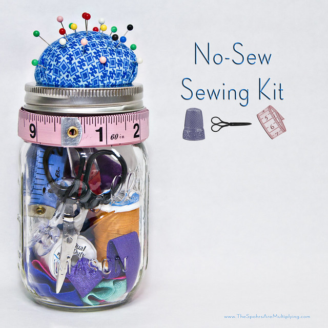 DIY No-Sew Sewing Kit