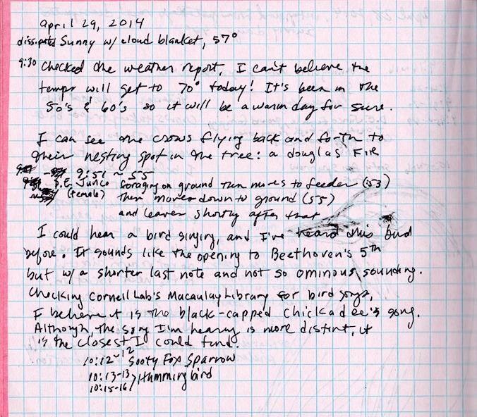 Fake Journal april 29,2014