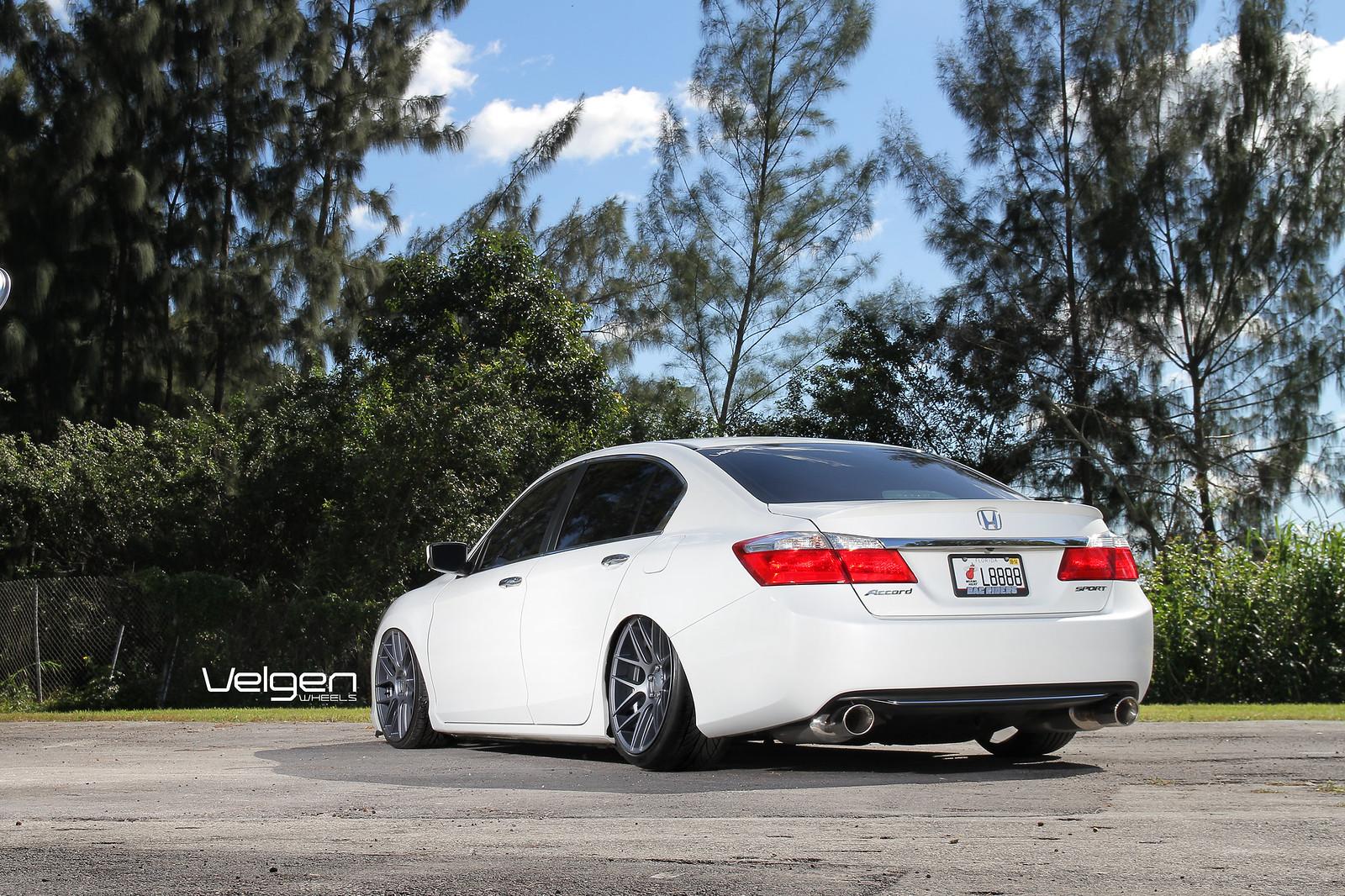 WOP Accord on new gunmetal Velgen VMB7 - Drive Accord Honda Forums