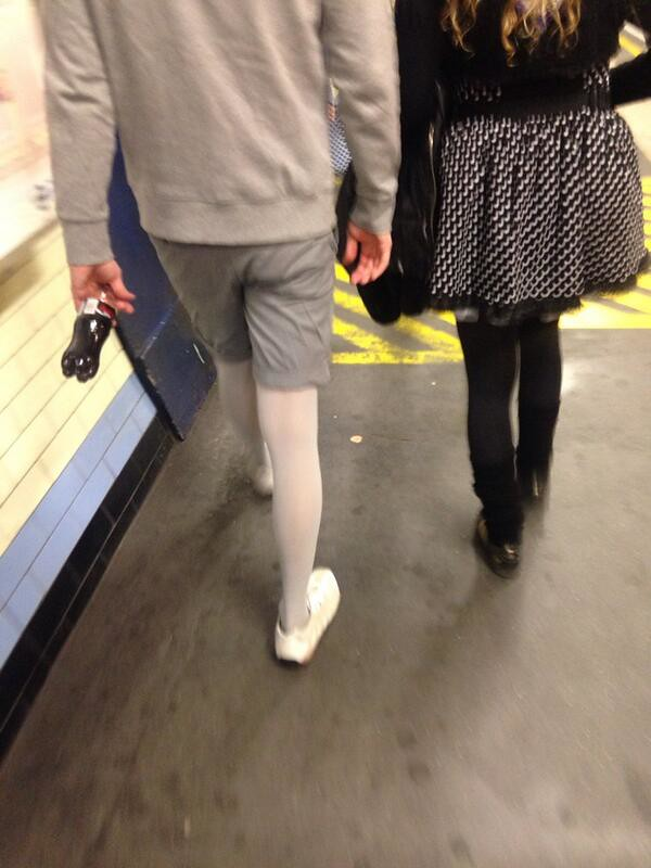 Pantyhose for men in london