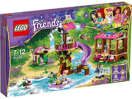 LEGO Friends Jungle Rescue Base #41038 the box - 473 pieces