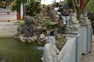 Fukushuen Garden: Bridge - Okinawa, Japan