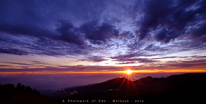 Sunrise at Rinjani