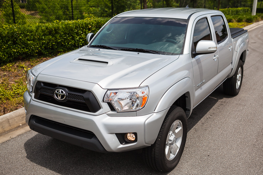 2013 Toyota Tacoma Dcsb Trd Sport 4x4 Silver Only 13 000