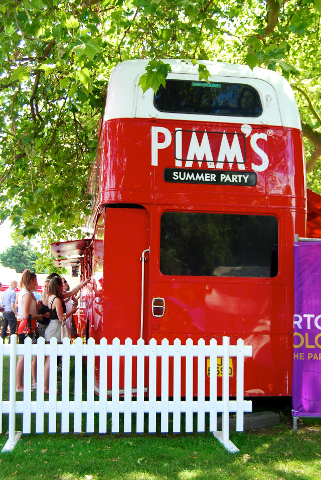 Pimm's Bus at Polo In The Park