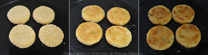 How to make aloo tikki - Step4