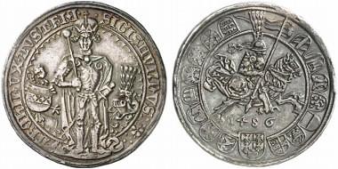 guldengroschen of Sigismund, Archduke of Austria obverse