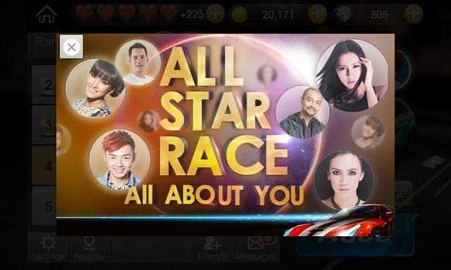 WeChat Speed Allstar
