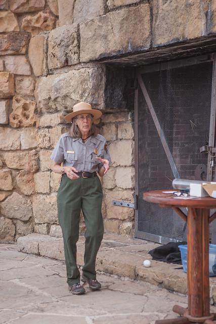 Condor Talk, Park Ranger, North Rim Grand Canyon