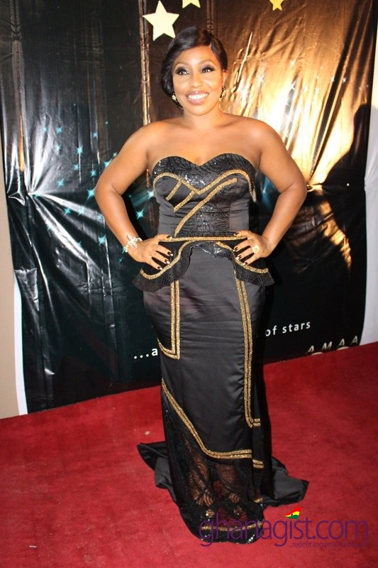 Rita Dominic at 2014 Africa Movie Academy Awards
