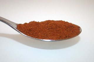 09 - Zutat Chili-Pulver / Ingredient chili powder