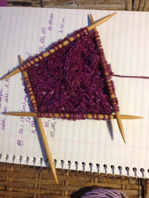 Spiral Pram Blanket Start