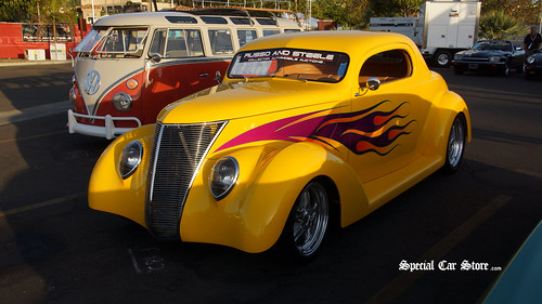 1937 Ford Boyd Coddington Custom 2 Door Coupe