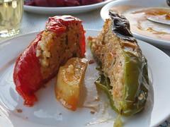 Tonia's delicious gemista (stuffed peppers) I…