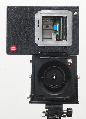 angle control machine and scanner lens
