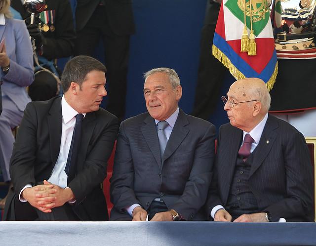 Grillo contro Napolitano, Renzi contro Grillo: e' scontro totale