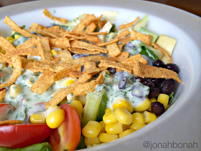 Southwest Salad with Cilantro Lime Dressing 2