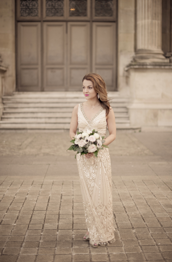 Hello Framboise Wedding Dress by BHLDN :: Photo Juliane Berry