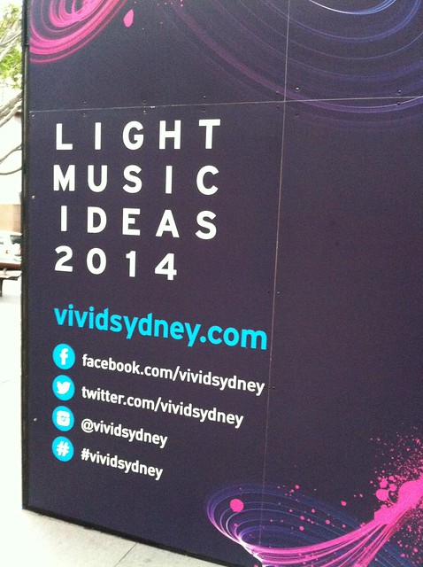 #vividsydney social media