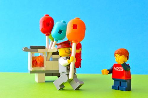 Balloon man to the rescue
