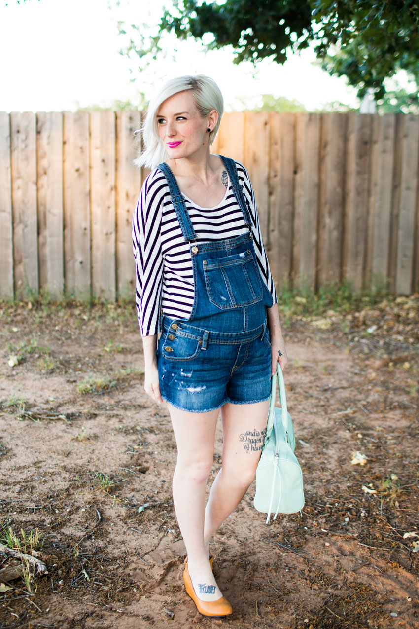 what i wore :: overalls forever | indiejane photography