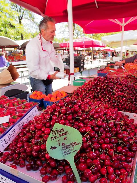 中央市場-水果攤販