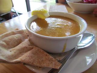 Lentil Soup at Nuba