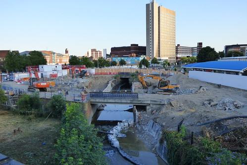 Lewisham Gateway progress 1 July 2014