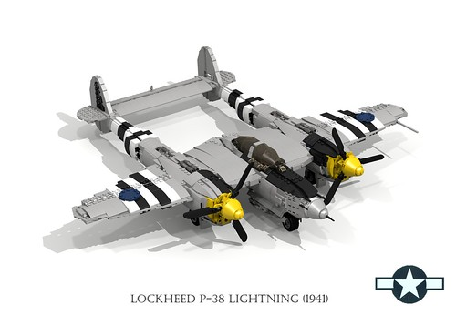 auto classic 1948 car plane airplane model europe fighter lego pacific render aircraft air wwii aeroplane cadillac 1940s chrome series lightning fin bomber lockheed coupe challenge v8 1941 62 cad 79 tailfin lugnuts povray fastback moc p38 ldd usaaf miniland turbosupercharge lego911 lugnutsgoeswingnuts