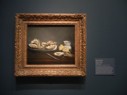 DSCN1806 _ Oysters, 1862, Édouard Manet, National Gallery of Art at Legion of Honor