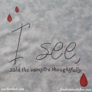 I see, said the vampire thoughtfully