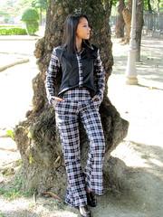 pattern, textile, footwear, clothing, outerwear, fashion, photo shoot, design, tartan, spring, plaid,