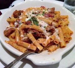 poutine(0.0), vegetarian food(0.0), bucatini(0.0), spaghetti(0.0), pappardelle(0.0), penne(0.0), cheese fries(0.0), produce(0.0), meal(1.0), italian food(1.0), pasta(1.0), meat(1.0), food(1.0), dish(1.0), carbonara(1.0), cuisine(1.0),
