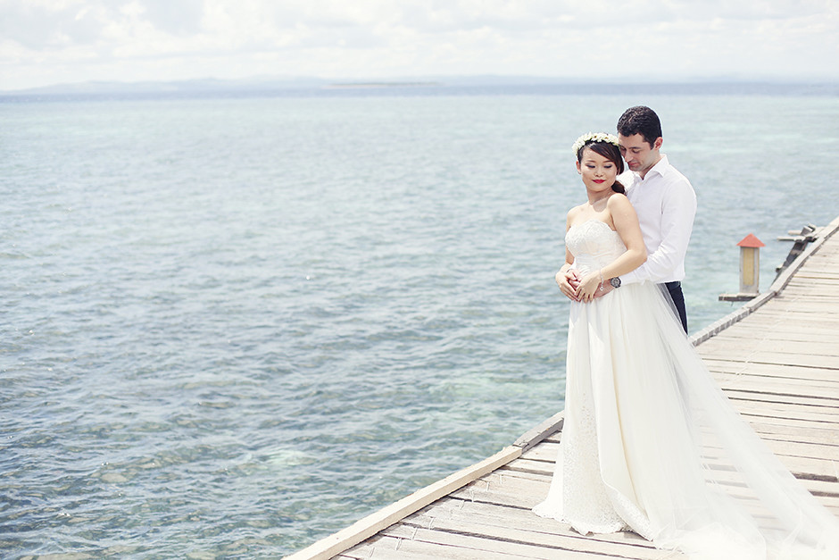 Nalusuan Island Cebu, Cebu Engagement Session