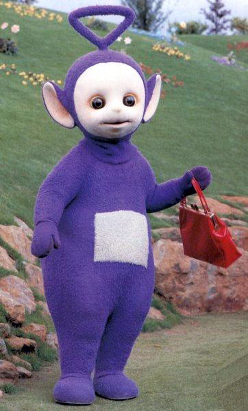 Purple Teletubby
