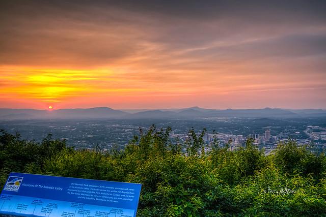 Mill Mountain Star Set Roanoke