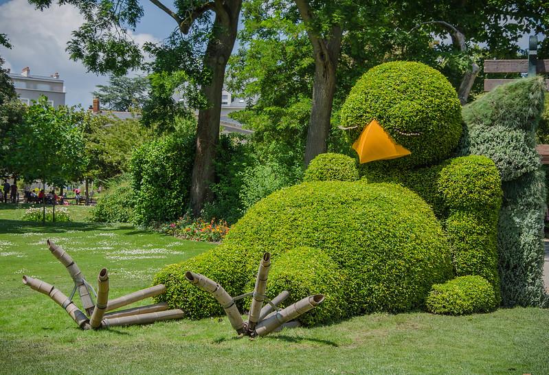 Le poussin du Jardin des Plantes, Voyage à Nantes 2014