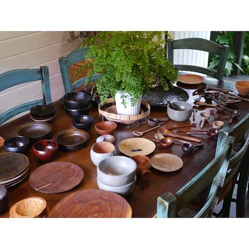 木の器 小さな展示会の写真②
