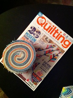 Quilty mail!