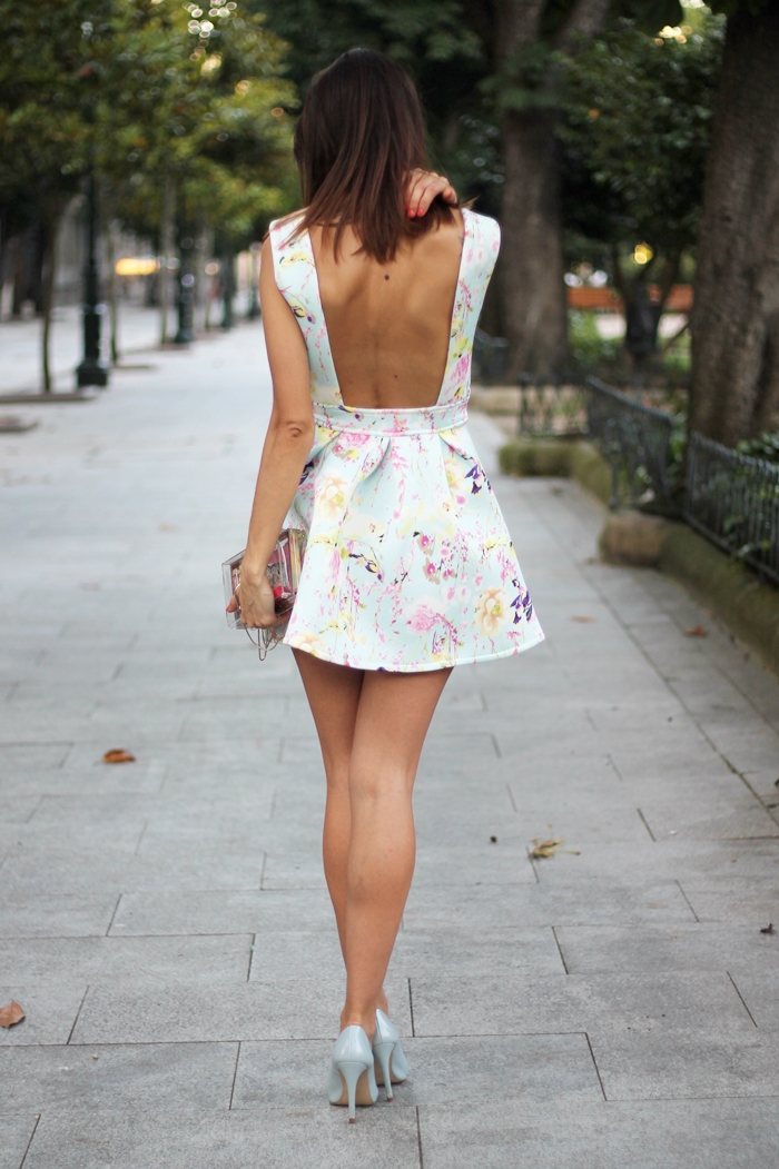 vestido sheinside floral
