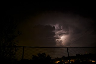 National Cathedral and lightning
