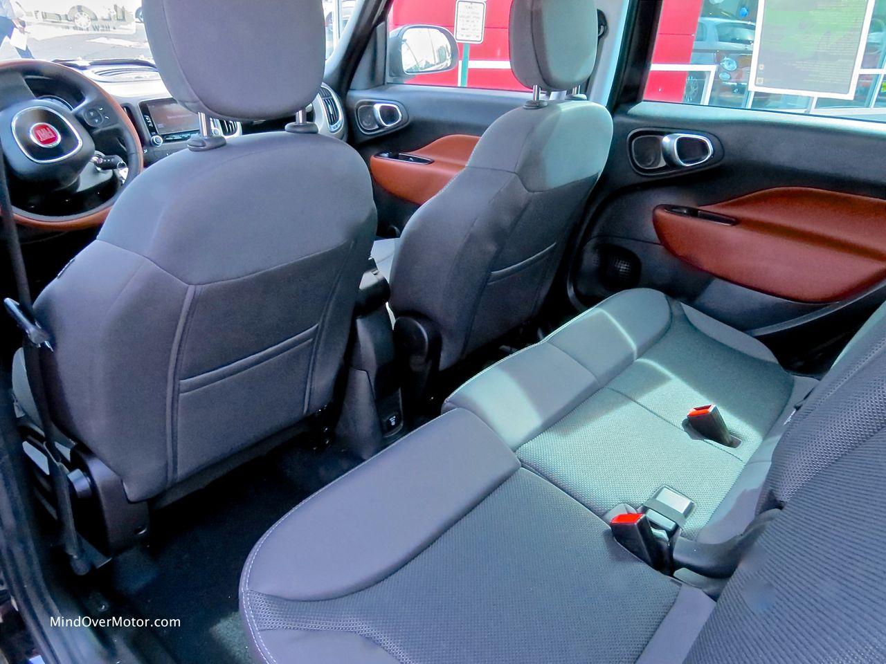 Fiat 500L Rear Seat