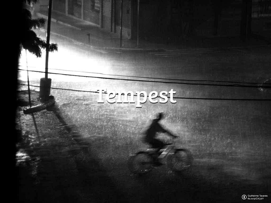 Flickr Friday: Tempest | Heavy rain is dropping, strong wind is blowing. Take a shot of the most impressive and creative photos to the theme, and share it with us in the Flickr Friday group adding the #FlickrFriday and #Tempest tags.