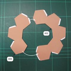 วิธีทำโมเดลกระดาษของเล่นคุกกี้รัน คุกกี้รสพ่อมด (Cookie Run Wizard Cookie Papercraft Model) 042