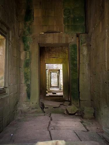 Hallways and doors